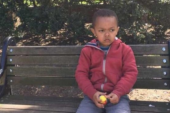 Five years old Issac Paulos, of Ethiopian origin, missing from Grenfell Tower Fire