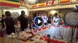Ethiopians in Toronto celebrated Teddy Afro