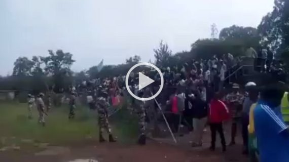 Soccer Fans from Oromo and Amara regions chant together anti-TPLF chant