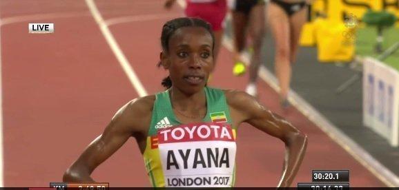 Almaz Ayana - World Championship - London