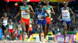Muktar Edris beats Mo Farah in men`s 5000 meters World Championship