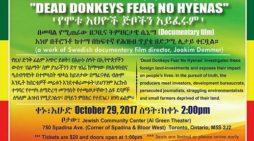 Documentary film on Ethiopia at Jewish Community center, Toronto
