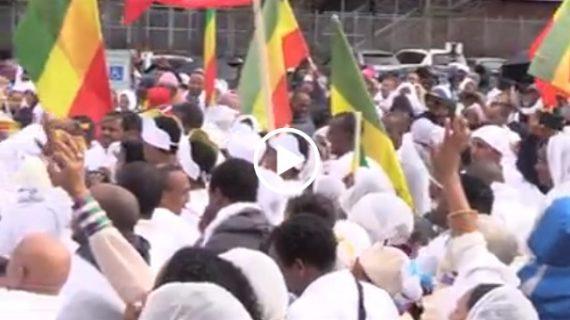 Ethiopian Timkat ( Epiphany) celebration in Seattle , Washington