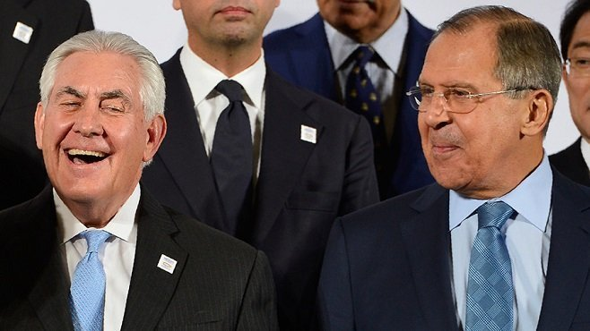 Ethiopia -Tillerson and Lavrov -