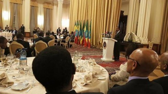 Ethiopian Opposition party met with Abiy Ahmed at the National Palace
