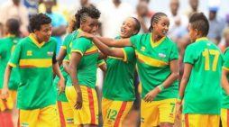 Ethiopian National Women soccer team beat Libya 8-0