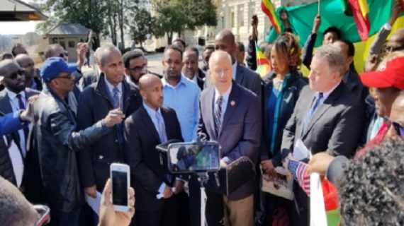 US Congress passed HR 128 resolution to support human rights in Ethiopia