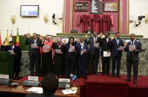 The new EPRDF administration opted for staying the course, cabinet ministers sworn in