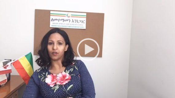 Miss Hamrawit Tesfa responds to critics of Abiy Ahmed
