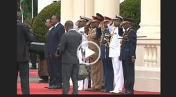 Prime minister Abiy Ahmed discussed trade and diplomatic matters with Uhuru Kenyatta