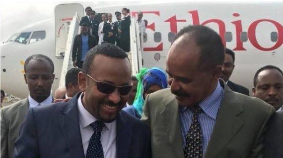 Eritrean and Ethiopian leaders Asmara meeting ignites celebration
